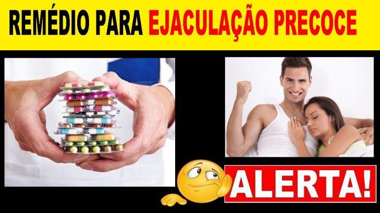 medicamentos para o tratamento da ejaculação precoce